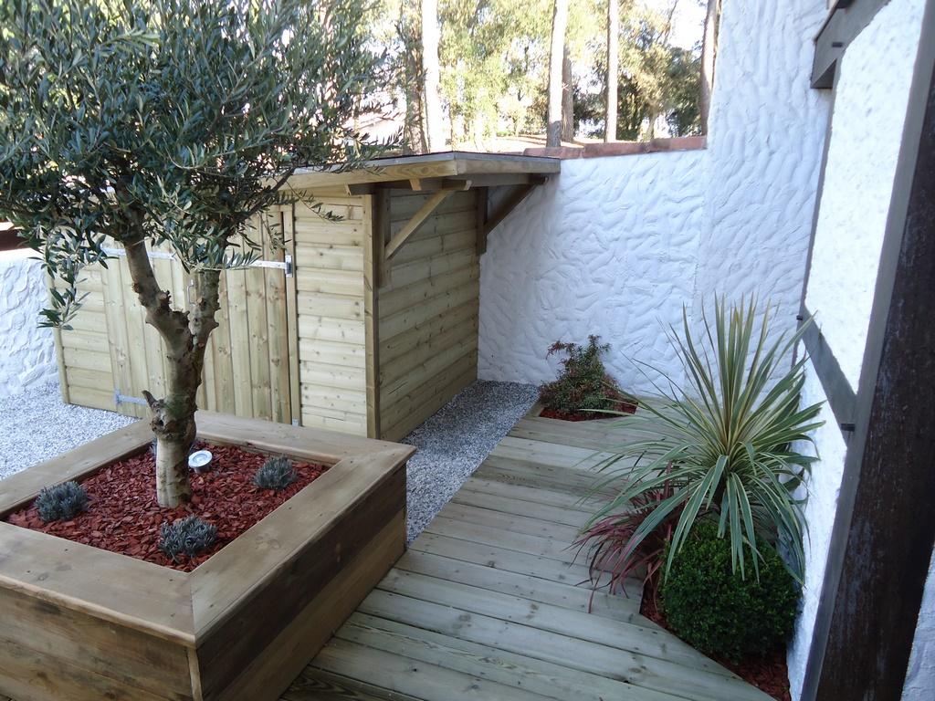 construction bois landes, aménagement extérieur bois Capbreton