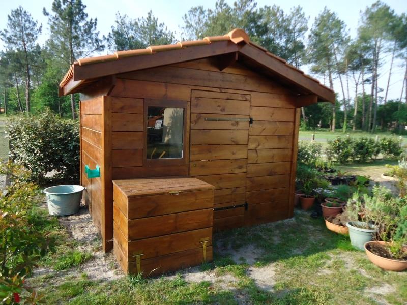 construction abris de jardin en bois Landes