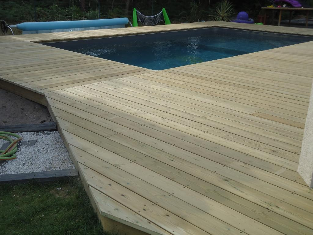 en bois, pose terrasse bois Landes, terrasse 40, artisan terrasse bois