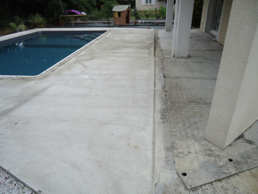 Bien-aimé tour de piscine en bois, pose terrasse bois Landes, terrasse 40  FJ53