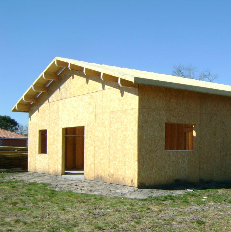 Construction maison bois landes 40 maison ossature bois for Constructeur maison bois landes
