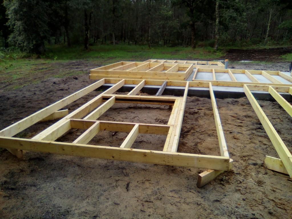 construction maison bois landes 40, mimizan, biscarrosse, parentis, labouheyre, morcenx, escource, t # Fabrication Mur Ossature Bois