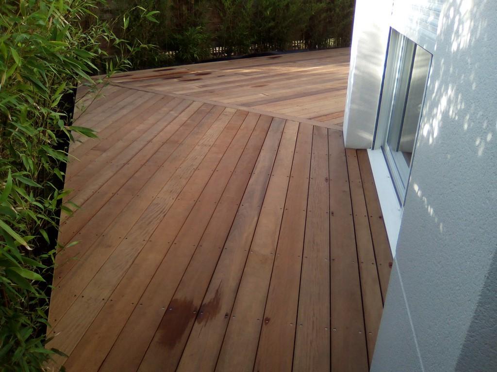 Terrasse bois bassin arcachon terrasse bois exotique - Bassin terrasse en bois l caen ...