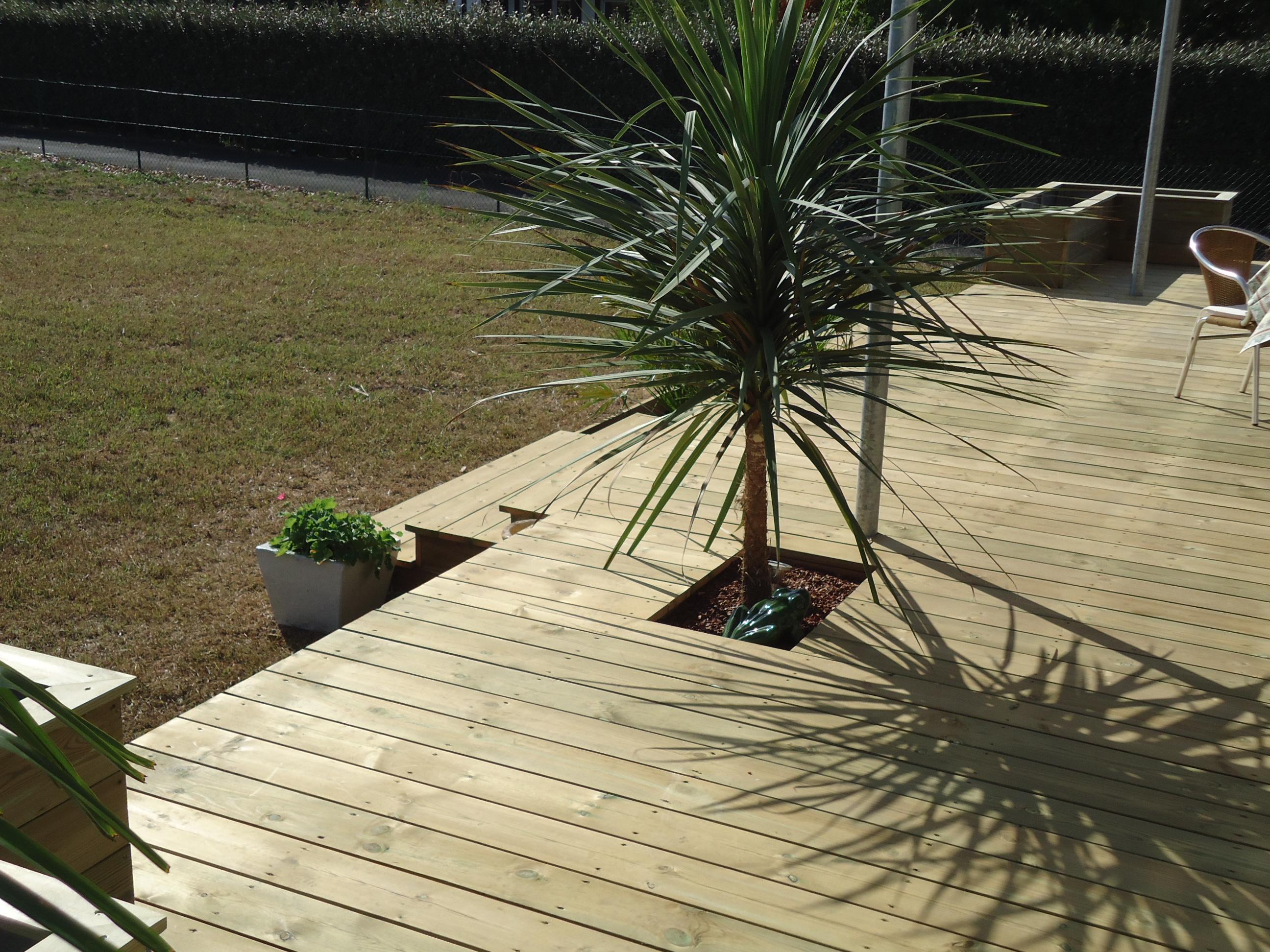 Terrasse bois biganos - Leroy merlin debroussailleuse ...