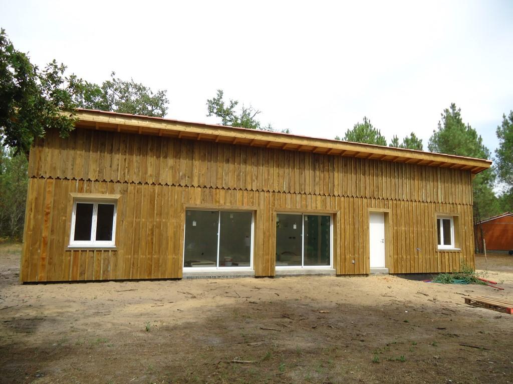 Deck 40 maison ossature bois landes constructeur maison bois landes mimizan pontenx les - Maison dans les bois ...