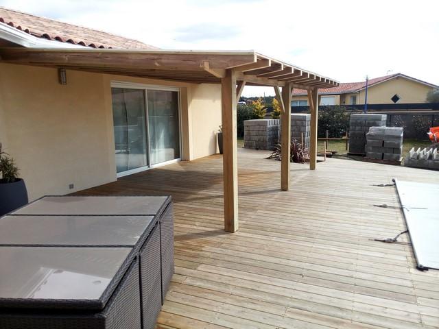 Deck 40 Construction De Pergolas En Bois Landes 40 Arcachon Gironde 33